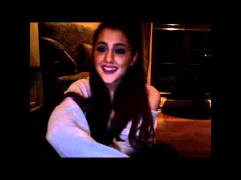 Ariana Grande's Ustream Chat on October 22 (Part 1)