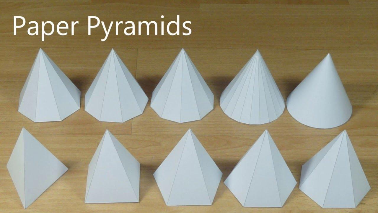 Paper Pyramids  YouTube