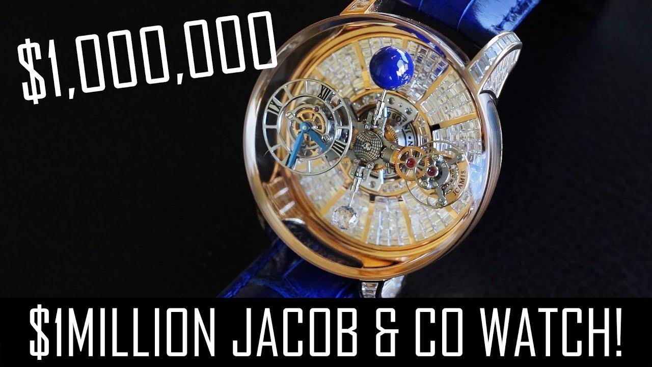 4ac31a7fef529 The $1million Jacob & Co Astronomia watch! - YouTube