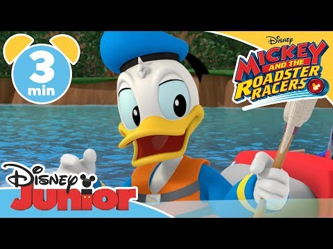 Mickey and the Roadster Racers  Donalds Dangerous Fishing Trip  Magical Moment  Disney Junior UK