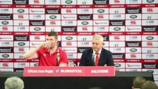 BIL Lions Post Match vs All Blacks 1st Test Eden Park 2017 thumbnail