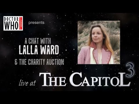 Lalla Ward ed at The Capitol 3. A Doctor Who Appreciation Society DWAS event 2018