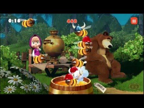 Jogo Masha E O Urso Jogos Infantis Xo Abelhas 10 Youtube