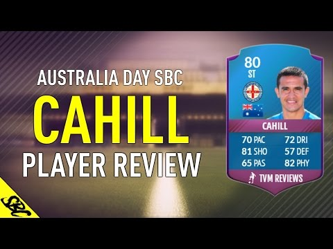 FIFA 17 SBC TIM CAHILL (80) PLAYER REVIEW