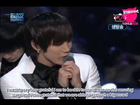[TIME2SUB] 091121 MAMA Best Artist Of The Year Award - 2PM