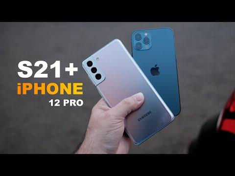 Samsung Galaxy S21 Plus Vs iPhone 12 Pro – This is interesting! (Hindi)