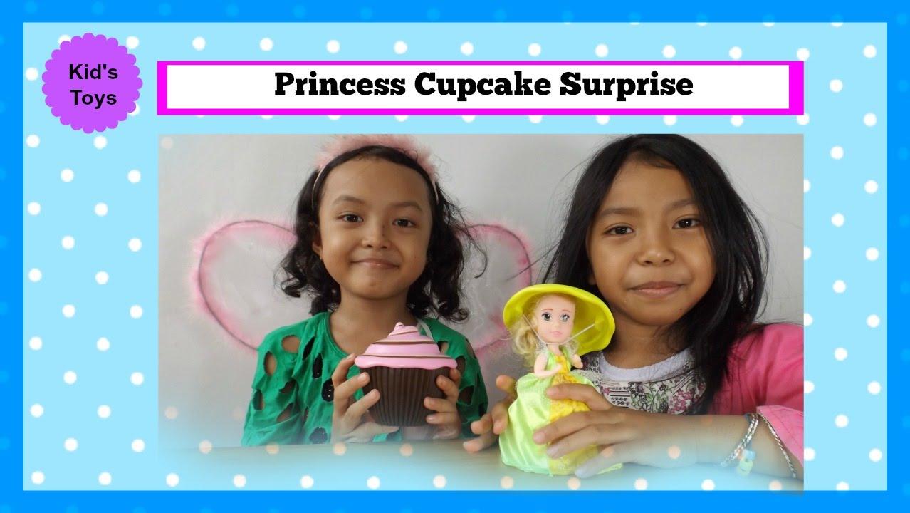 Princess Cupcake Surprise ♥ Wahh.. Cupcake nya bisa jadi boneka lucu banget  - YouTube 6895ac46dd