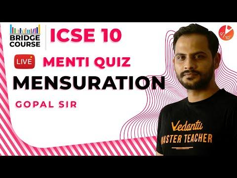 mensuration-icse-class-10-maths-|-mensuration-formula/questions/problems/solution-menti-quiz-vedantu