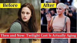 THEN AND NOW: The cast of 'Twilight' 12 years later