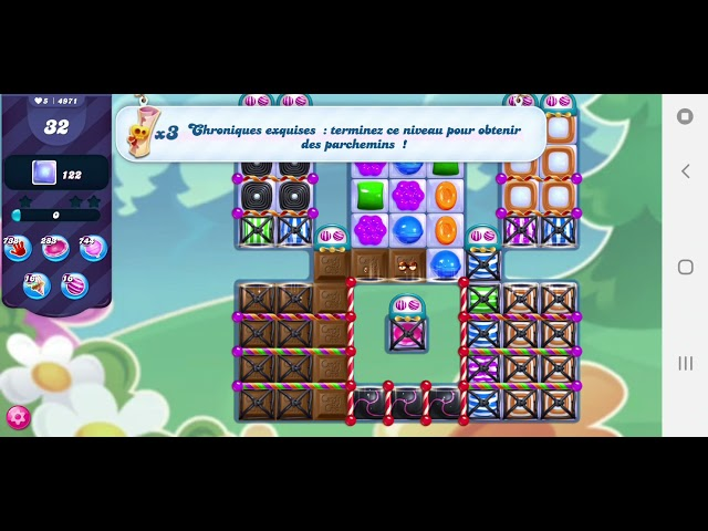 Candy Crush Saga niveau 4971