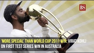 'More special' than World Cup 2011 win: Virat Kohli on first test series win in Australia