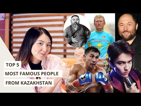 Top 5 globally famous people from Kazakhstan 🇰🇿