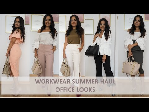 Workwear Summer Haul: Office looks from Kate Spade, Zara, Asos, Massimo Dutti and more.