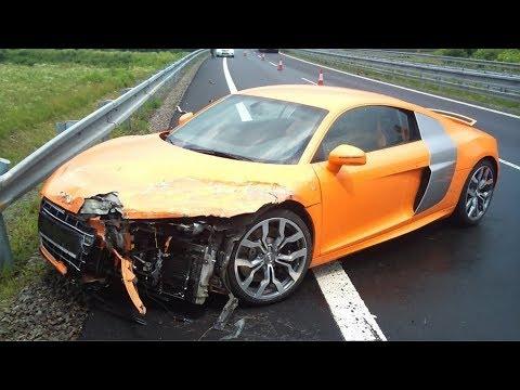 Audi R8 Crashes | Аварии Ауди Р8
