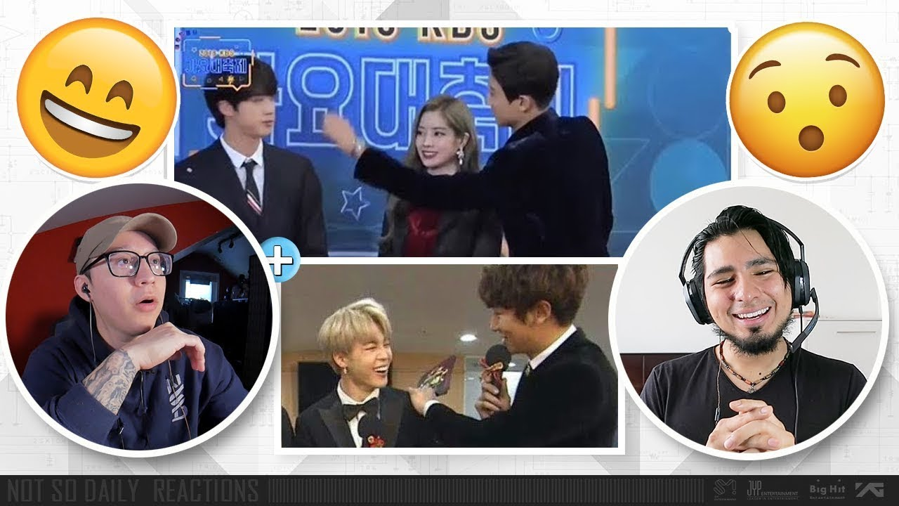 5 minutes of BTS and EXO ending fanwars + BTS X EXO Friendship Moment   NSD REACTION - YouTube