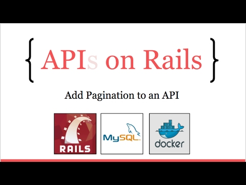 APIs On Rails: Add pagination to a JSON REST API