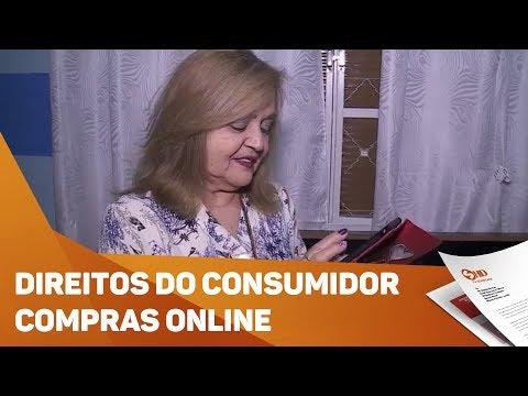 Direitos do Consumidor: compra online - TV SOROCABA/SBT