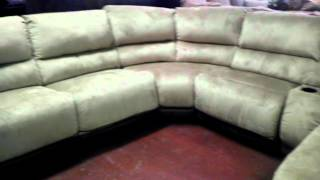 Ashley Chaise Lounge Sectional. Vdub Furniture