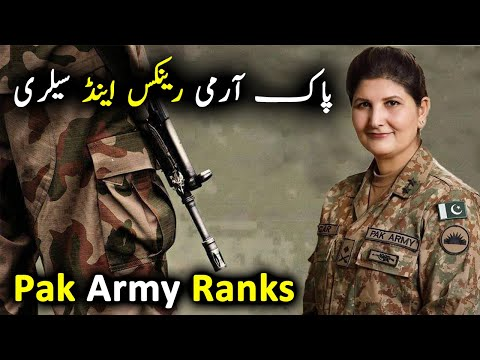 Pak Army Ranks , Insignia , Basic Pay Scale And Structure | Ababeel