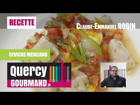 Recette : CEVICHE MEXICANO – quercygourmand.tv