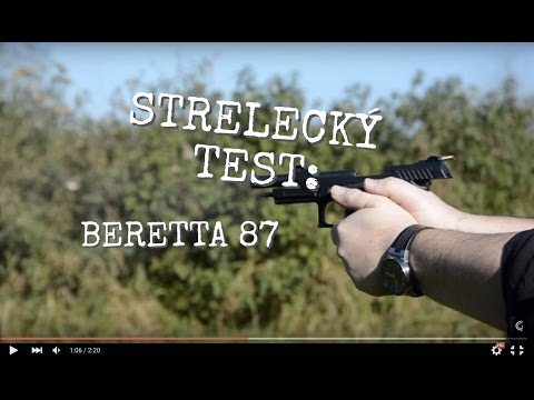 Strelecký test: Beretta 87BB Cheetah