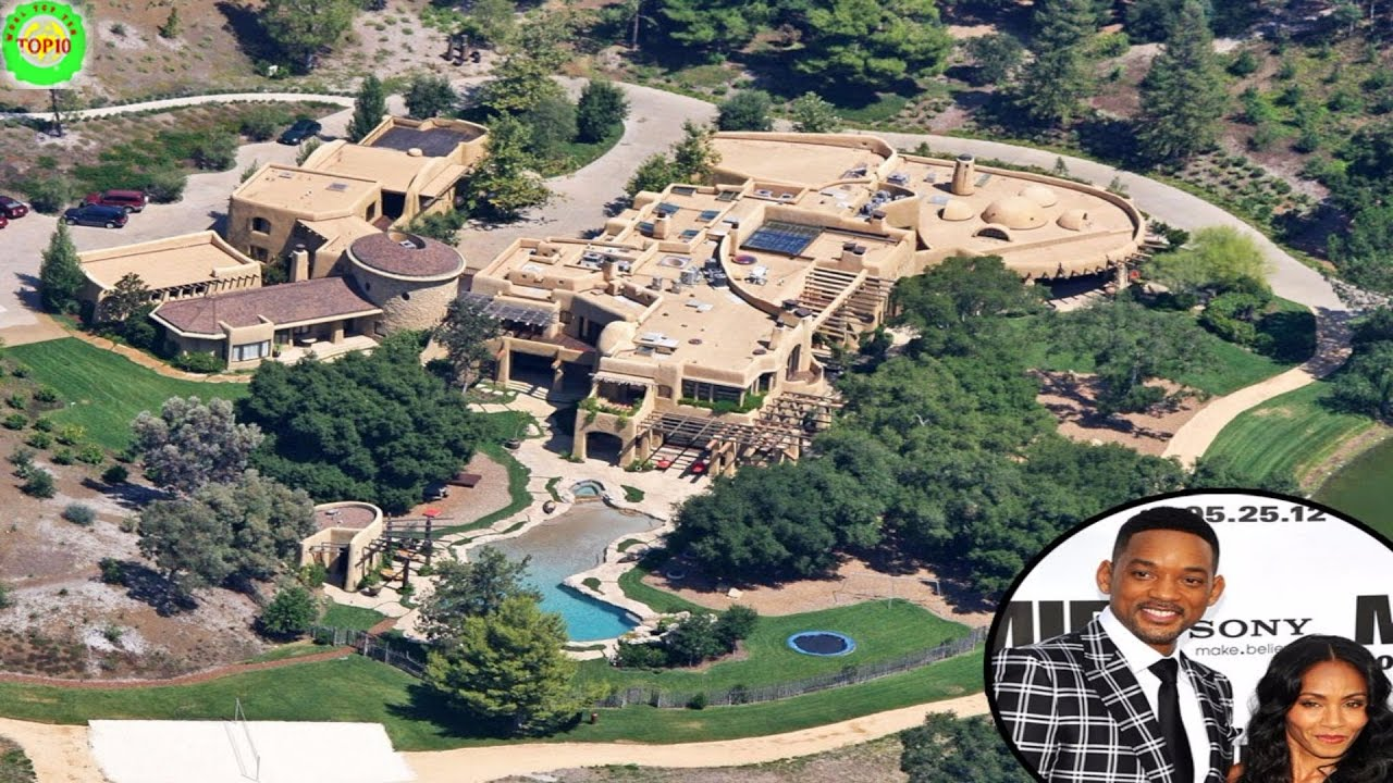 Top 10 most expensive actor 39 s mansion homes youtube for Top ten home builders