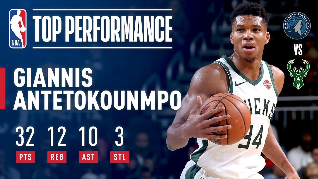 Giannis Antetokounmpo s Triple-Double Leads Bucks in Match-Up with  Timberwolves  90ec9b301