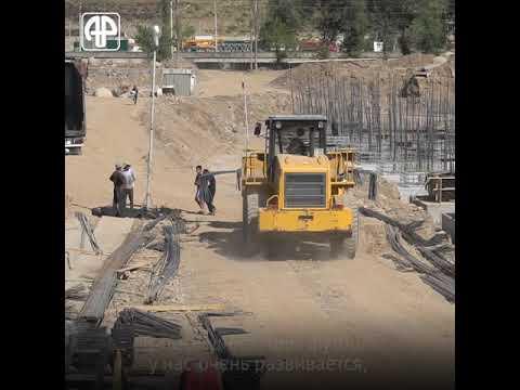 В Таджикистане строят самый большой стадион