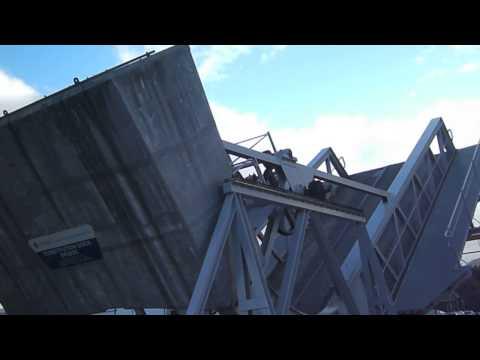 """""""TasPorts"""" Constitution Dock Bridge"""