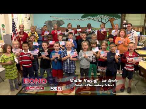 Pledge of Allegiance: Delshire Elementary School - Ms. Mollie Harloff 1st Grade