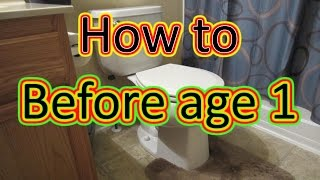 How to Potty Train Fast with Potty Training Song