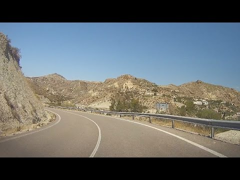 Spain: A-1102 to Sorbas (Andalusia)
