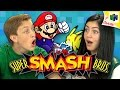 SUPER SMASH BROS. (N64) (Teens React: Re