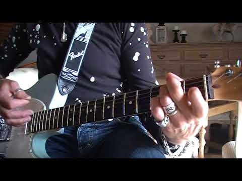 Time waits for no one Rolling Stones cover on a telecaster