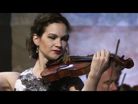 Hilary Hahn plays Bach Violin Concerto No.2 in E Major BWV 1042- Deutsche Kammerphilharmonie Bremen