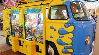 Claw Machines in a Van?
