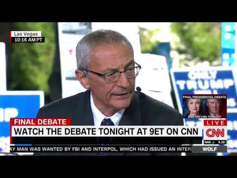 Podesta Struggles to Answer Questions About Hacked Emails
