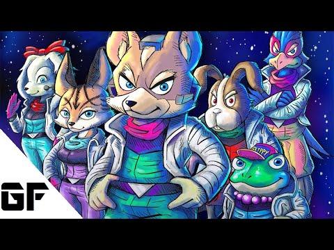 The Evolution of Star Fox (1993 - 2017)