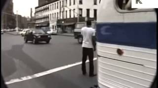 Walk Through 1986 Meatpacking District, Gritty Streets, Rare 1980s New York Footage