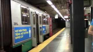 HD MBTA Green Line at Kenmore