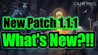Grim Soul Dark Fantasy : #64🔥New Patch 1.1.1🔥Dungeon's Changes🔥Great Loots🔥Durability increased