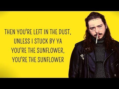 Post Malone - Sunflower (Lyrics) feat. Swae Lee