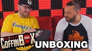 Rue Morgue Coffin Box (June) Unboxing! - Horror Movie Subscription Box