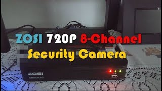 ZOSI 720P 8 Channel Home Security Camera System Review