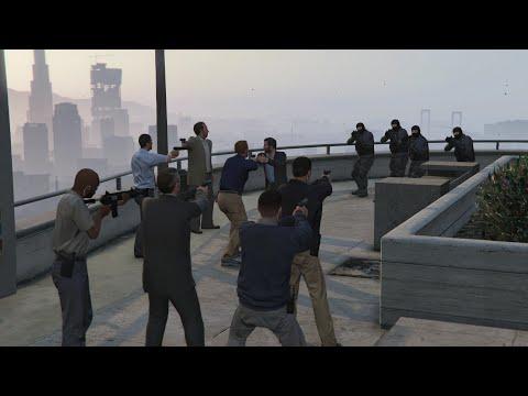 GTA V  Mexican Standoff