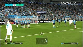 PES 2018 | REAL MADRID vs GREMIO | Final FIFA Club World Cup | C.Ronaldo amazing goals | Gameplay PC