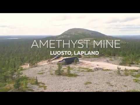 Lampivaara Amethyst Mine In Luosto, Finnish Lapland