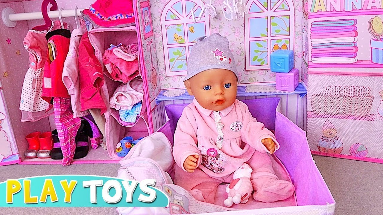 baby born doll pink bedroom doll clothes toys youtube