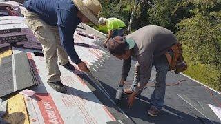 Стройка в Америке. Крыша по мексикански