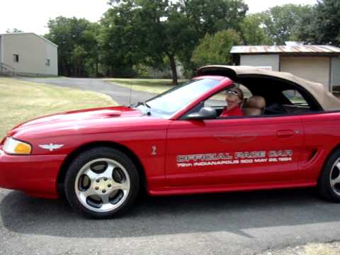 1994 Mustang Cobra Indy 500 Official Pace Car